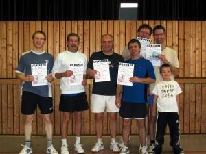 Vereinsmeisterschaft Doppel 2012